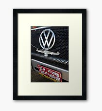 Get in............................! Framed Print