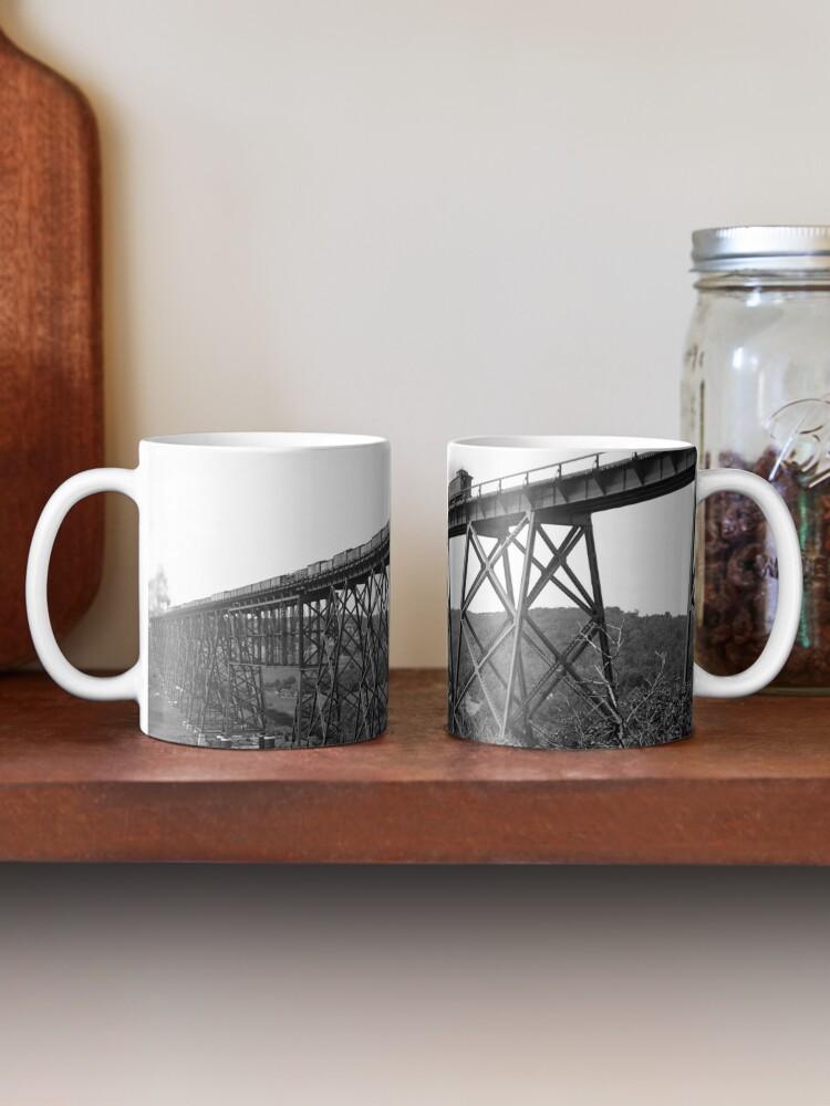 Alternative Ansicht von Kate Shelley High Bridge Tasse