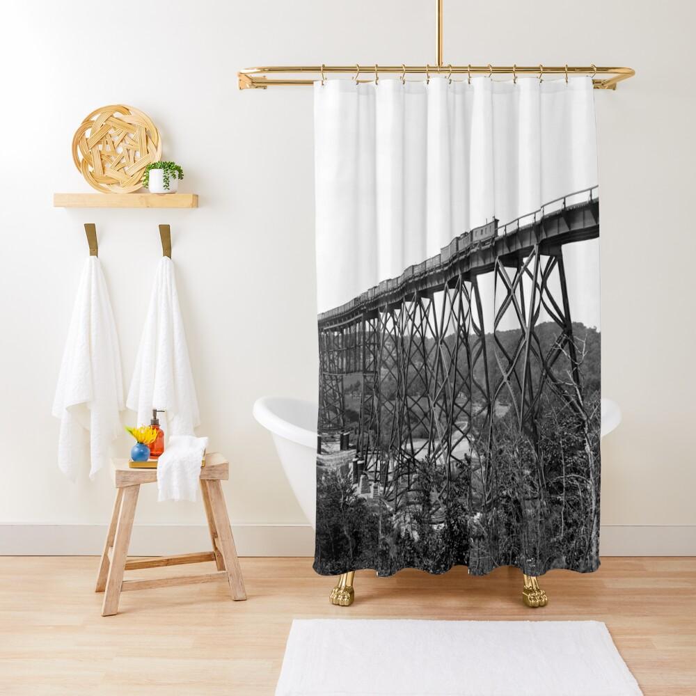 Kate Shelley High Bridge Duschvorhang