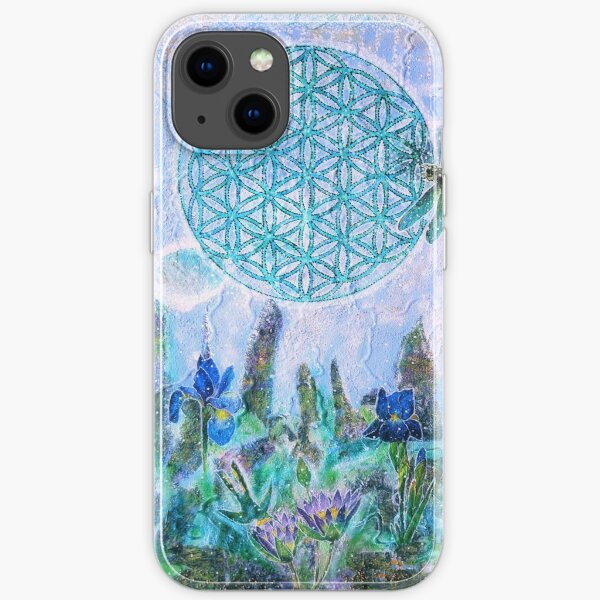 Flower of life lullaby iPhone Soft Case