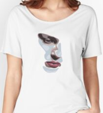 Simplistic face  Women's Relaxed Fit T-Shirt
