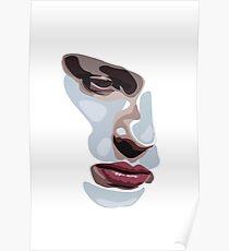 Simplistic face  Poster