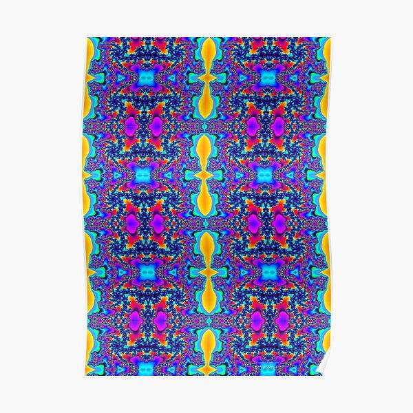 Symmetrical-Mandlebrot-Section-Fractal-29 Poster