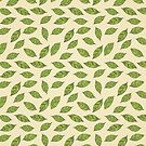 Leafs pattern by lauryngrafica