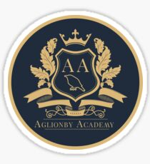 The Raven Cycle - Aglionby Logo Sticker