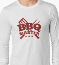 BBQ MASTER Long Sleeve T-Shirt