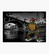 MrWetpaint x Turtles - Raph Photographic Print