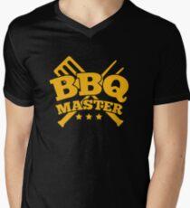 BBQ MASTER Men's V-Neck T-Shirt