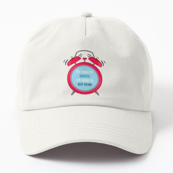 It's brave to breathe it's brave to keep going Dad Hat