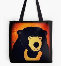 Sun Bear (Rustic) Tote Bag