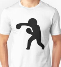 Boxing Stickman Unisex T-Shirt