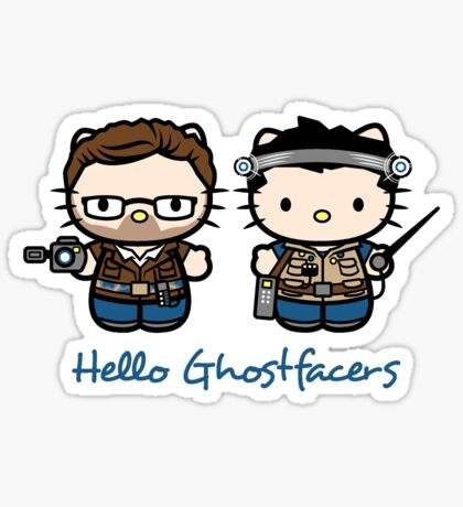 Ghostfacers Sticker