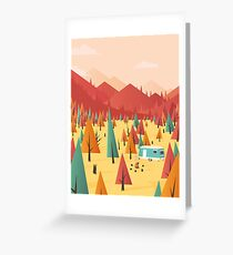 Go out Greeting Card