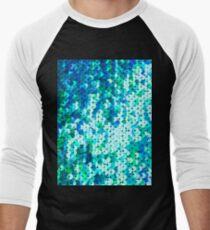 Beautiful sequins texture Men's Baseball ¾ T-Shirt