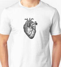 Vintage Heart Anatomy Unisex T-Shirt