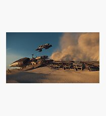 Desert Raiders Photographic Print
