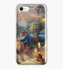 Beauty and the Beast Landscape iPhone Case/Skin