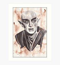 Count Orlok (Nosferatu) Art Print