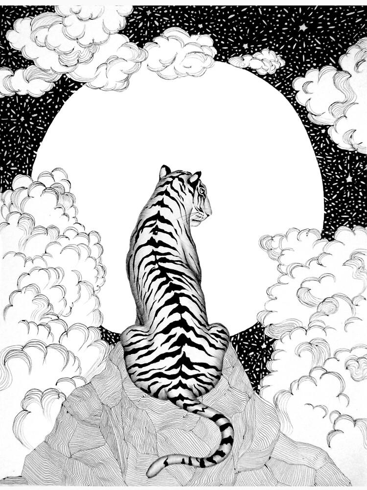 Tiger Moon von ECMazur