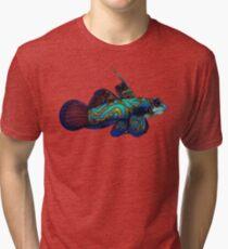 Mandarinfish Tri-blend T-Shirt