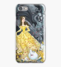 Beauty and the Beast Wallpaper iPhone Case/Skin