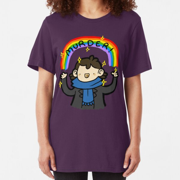 ~MURDER~ Slim Fit T-Shirt