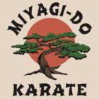 MIYAGI-DO - KARATE KID  by SUPER-TEES
