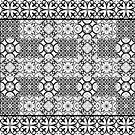 Floor tile black by erdavid