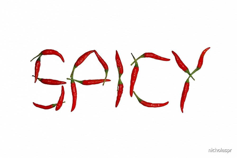 Spicy In Chillies by Nicholas Richardson