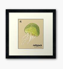 Jj - Jellyfruit // Half Jellyfish, Half Jackfruit Framed Print