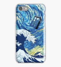 Tardis Great Wave iPhone Case/Skin