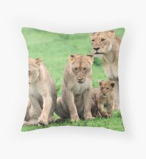 I will protect you kids!! Throw Pillow
