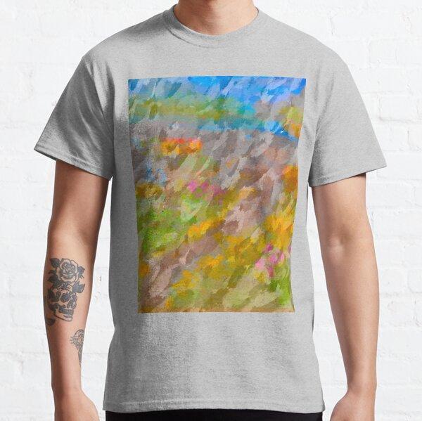 Beautiful, Restful Movement of Colors Classic T-Shirt