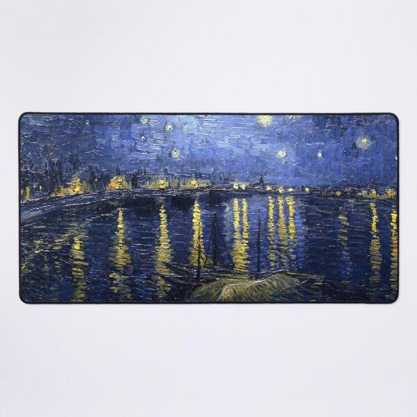 Van Gogh - Starry Night Over the Rhone  Desk Mat