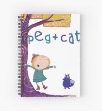 Peg + Cat Spiral Notebook