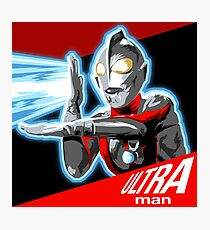 """ULTRAMAN"" Photographic Print"