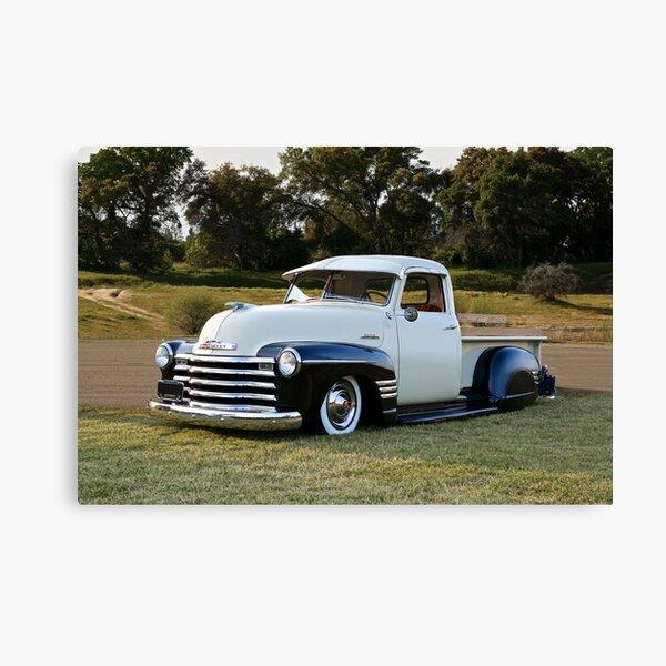 1951 Chevrolet 3100 'lowrider' Pickup Canvas Print