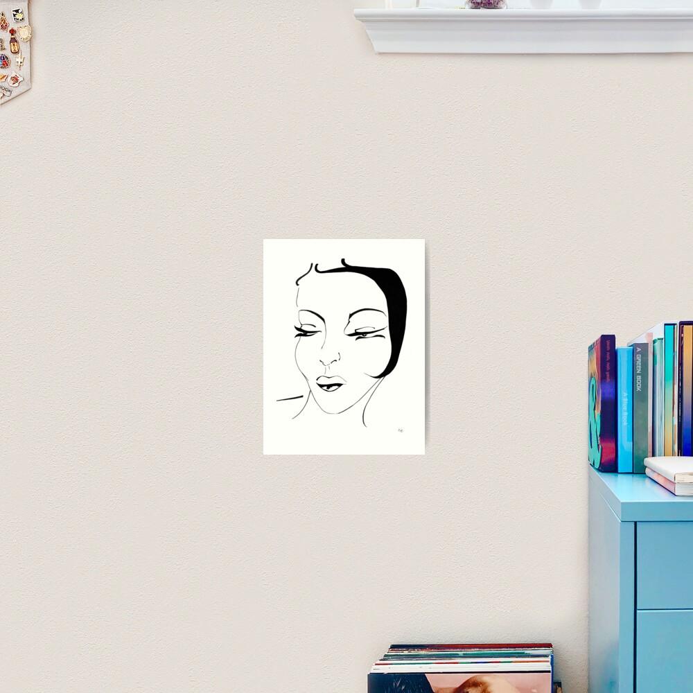 Die Ikone - The Icon Kunstdruck
