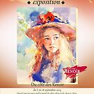My exhibition in France....Essoyes ,.champagne by vasenoir