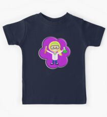 Science, Girl, Gal, Physics, Chemistry, Experiments, school, Pink Kids Tee