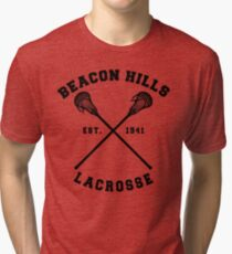 Beacon Hills Lacrosse - Teen Wolf! Tri-blend T-Shirt