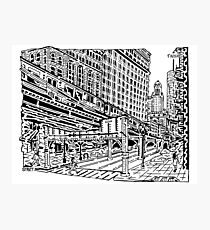 Chicago EL Maze Photographic Print
