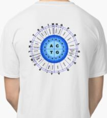 DNA, Genetic Code, Circle, Gene, Codon, Amino Acid, Classic T-Shirt