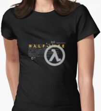 Half Life 1998 shirt Womens Fitted T-Shirt