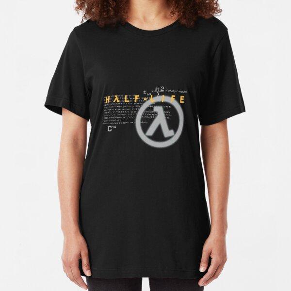 Half Life 1998 shirt Slim Fit T-Shirt
