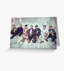 BTS Bangtan Boys WINGS Dope Greeting Card