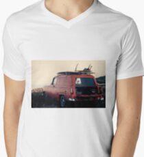 Surf Wagon Mens V-Neck T-Shirt
