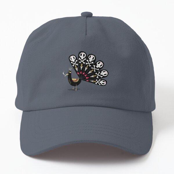 Dark Peacock Dad Hat