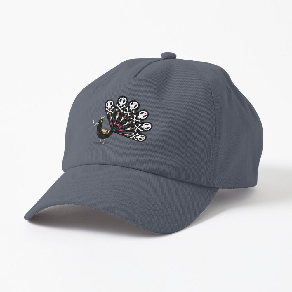 Dark Peacock Cap