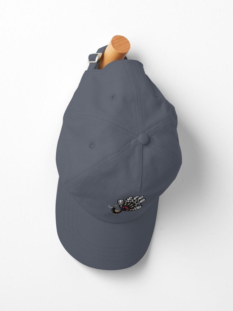 Alternate view of Dark Peacock Cap